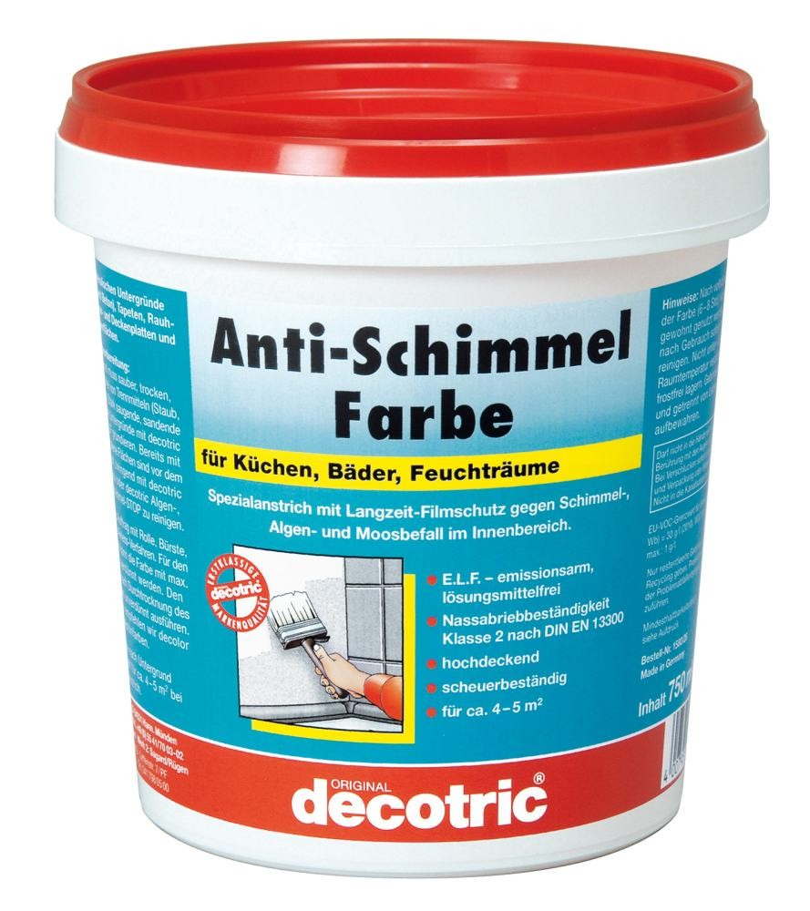 Decotric Anti-Schimmel-Farbe