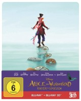 Disney Bluray Alice im Wunderland 2D+3D