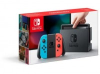 Nintendo Switch Konsole 32GB neon-rot/blau