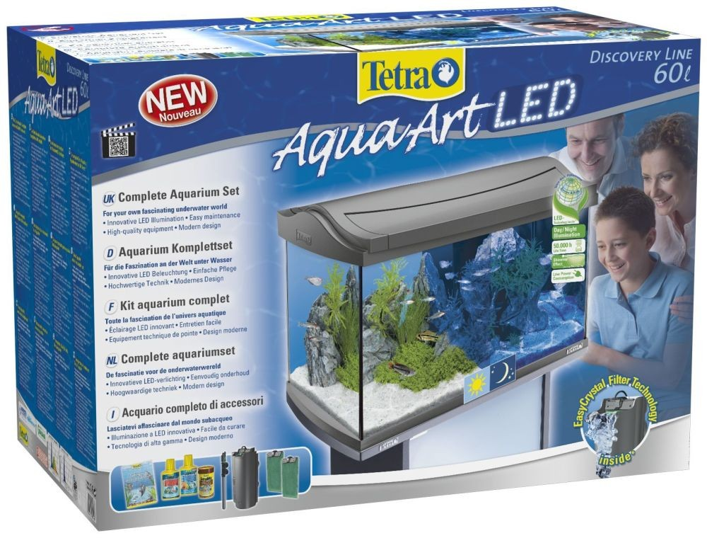 Tetra Aquarium-Set 60 L AquaArt LED